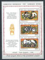 242 AZERBAIDJAN 1999 - Yvert BF 46 - Legende Chameau Cheval Personnage - Neuf ** (MNH) Sans Trace De Charniere - Azerbaïdjan