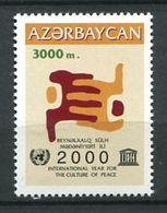 242 AZERBAIDJAN 2000 - Yvert 414 - Main Stylisee - Neuf ** (MNH) Sans Trace De Charniere - Azerbaïdjan