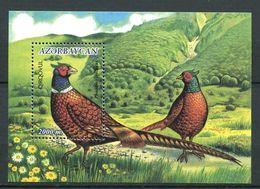 242 AZERBAIDJAN 2000 - Yvert BF 48 - Oiseau Faisan - Neuf ** (MNH) Sans Trace De Charniere - Azerbaïdjan