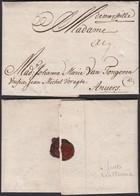 """France 1705- Précurseur Pli Daté """"Marseille 27 Nov """" à Destination D'Anvers - Superbe (VG) DC1346 - 1701-1800: Précurseurs XVIII"""