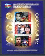 242 AZERBAIDJAN 2000 - Yvert BF 50 - JO De Sydney Vainqueur - Neuf ** (MNH) Sans Trace De Charniere - Azerbaïdjan