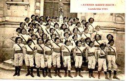 54   LUNEVILLE - AVENIR DE SAINT MAUR 1921 - Luneville