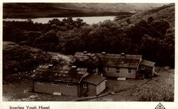 RARE RPPC Inverbeg. Youth Hostel. Dunbartons - Dunbartonshire