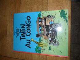 TINTIN - AU CONGO - CASTERMAN -  REED 1984 - Hergé