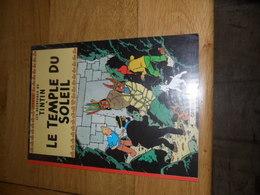 TINTIN - LE TEMPLE DU SOLEIL  - CASTERMAN -  REED 1999 ( Broché, Souple Et Couverture à Rabats) - Hergé