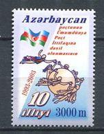 242 AZERBAIDJAN 2003 - Yvert 462 - UPU Embleme Drapeau - Neuf ** (MNH) Sans Trace De Charniere - Azerbaïdjan