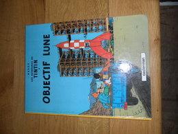 TINTIN - OBJECTIF LUNE  - CASTERMAN -  REED 1985 - Hergé