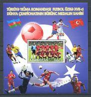 242 AZERBAIDJAN 2003 - Yvert BF 56 - Coupe Du Monde Football - Neuf ** (MNH) Sans Trace De Charniere - Azerbaïdjan