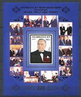 242 AZERBAIDJAN 2003 - Yvert BF 57 - President Heydar Aliev Portait - Neuf ** (MNH) Sans Trace De Charniere - Azerbaïdjan
