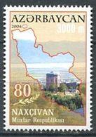 242 AZERBAIDJAN 2004 - Yvert 487 - Carte Mausolee - Neuf ** (MNH) Sans Trace De Charniere - Azerbaïdjan