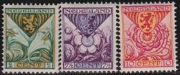 Nederland      .    NVPH    .   166/168      .   *     .      Ongebruikt      .   /   .  Mint-hinged - Periode 1891-1948 (Wilhelmina)