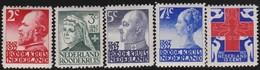 Nederland      .    NVPH    .   203/207      .   *     .      Ongebruikt      .   /   .  Mint-hinged - Periode 1891-1948 (Wilhelmina)
