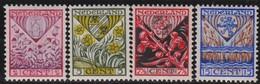 Nederland      .    NVPH    .   208/211      .   *     .      Ongebruikt      .   /   .  Mint-hinged - Periode 1891-1948 (Wilhelmina)