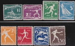 Nederland      .    NVPH    .   212/219      .   *     .      Ongebruikt      .   /   .  Mint-hinged - Periode 1891-1948 (Wilhelmina)