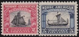 USA      .    Yvert      .   263/264  (264: **)         .       *     .      Ongebruikt      .   /   .  Mint-hinged - Vereinigte Staaten