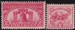 USA      .    Yvert      .   268/269       .       *     .      Ongebruikt      .   /   .  Mint-hinged - Vereinigte Staaten
