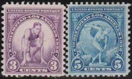 USA      .    Yvert      .   314/315     .       *     .      Ongebruikt      .   /   .  Mint-hinged - Vereinigte Staaten