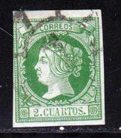 Espagne 1860 Yvert 47 (o) B Oblitere(s) - 1850-68 Königreich: Isabella II.