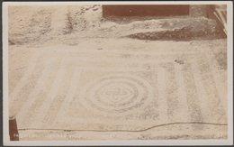 Pavement, Roman Villa, West Meon, Hampshire, C.1920 - RP Postcard - England