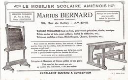 Buvard  Le Mobilier Scolaire Amiénois 29 Rue Du Bellay AMIENS - Buvards, Protège-cahiers Illustrés