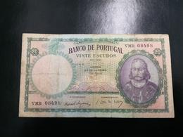 Portugal PAPEL NOTA 20$00  CH 6 27 JANEIRO 1959 - Portugal