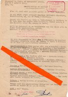 Poitiers (86) Militaria 39-45 :2 Documents Sur Les Bombardements Du13 Juin 1944 :Mr Doussaint Et Deniort - 1939-45