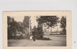Bassenge , Tram électrique , Tramway , Publicité SHELL  Lubrication  ;  Photo  12,2 X 7,2 Cm - Bassenge