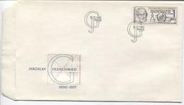 CSSR # 2697 FDC. Tag Der Briefmarke, Jaroslav Goldschmied Briefmarkenstecher. Ersttagssonderstempel. - FDC