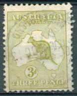 Australie - 1912/1919 - Yt 5 - Série Courante - Oblitéré - Usados