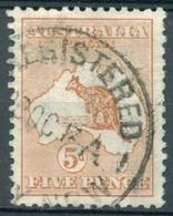 Australie - 1912/1919 - Yt 7 - Série Courante - Oblitéré - 1913-48 Kangaroos