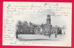 08-Charleville-Place Ducale -taille Cpa  écrite 1903 - Charleville
