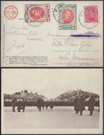 Belgique 1917 - COB 132+134+138 Sur Carte De La Panne (BE) DC1351 - 1914-1915 Croix-Rouge