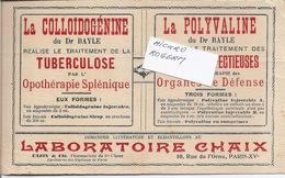 Buvard - COLLOIDOGENINE Du Labo CHAIX - Traitement De La TUBERCULOSE - 380119 - Buvards, Protège-cahiers Illustrés