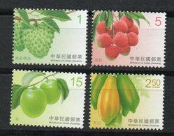 República De China. (Taiwan). Frutos. - 1949 - ... República Popular