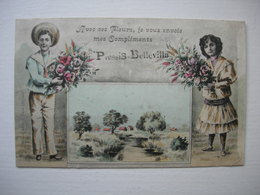 CPA Plessis Belleville. Avec Ses Fleurs.... - Other Municipalities
