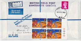 Great Britain British Forces Post Office Cover - Covers & Documents