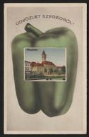 HUNGARY - Szeged (Városháza) - VINTAGE POSTCARD (APAT#09) - Ungarn