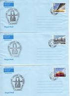 Great Britain 3 British Field Post Office 575 Covers - 1952-.... (Elizabeth II)
