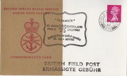 Great Britain British Field Post Office 575 Card - 1952-.... (Elizabeth II)