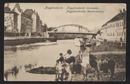 YUGOSLAVIA - Serbia,Vojvodina,ZRENJANIN (hungarian-NAGYBECSKEREK), River Begej, VINTAGE POSTCARD (APAT#37) - Yougoslavie