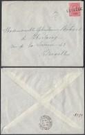 """Belgique 1919- COB 138 Sur Lettre Oblitération Fortune """" LUBBEEK """" (BE) DC1357 - Belgique"""