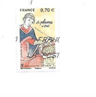 Les Plumes D'écriture La Plume D'oie 5100 Oblitéré 2016 - France