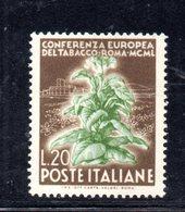 XP1798 - REPUBBLICA 1950 , 20 Lire N. 630 *** Tabacco - 1946-60: Nuovi