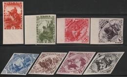 TOUVA - N° 39/46 **/* ND (1934) Timbres Pour Le Courrier Recommandé - Tuva