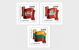 Litouwen / Lithuania - Postfris / MNH - Complete Set Vlaggen 2019 - Litouwen