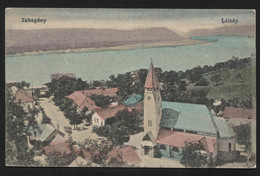 HUNGARY - Zebegény,village In Pest County - View Of The Danube-VINTAGE POSTCARD,1917(APAT#22) - Hungary