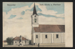 YUGOSLAVIA - Serbia,Vojvodina,KARAVUKOVO Village (hungarian-Bácsordas),Catholic Church - VINTAGE POSTCARD (APAT#138) - Yougoslavie