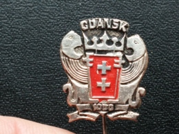 Z 672 - GDANSK, POLAND, EMBLEME, BLASON - Ciudades