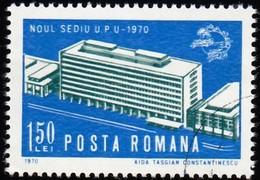 ROMANIA - Scott #2190 UPU Headquarters, Bern (*) / Used Stamp - 1948-.... Republics