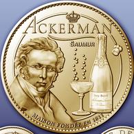 49 SAINT-HILAIRE SAUMUR ACKERMAN MÉDAILLE ARTHUS BERTRAND 2011 JETON TOKENS MEDALS COINS - Arthus Bertrand